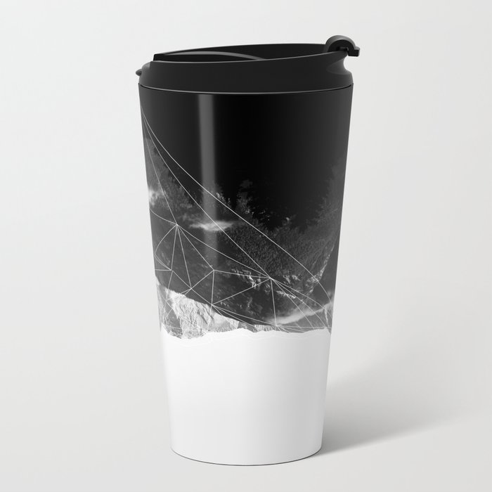 Crystal Mountain Metal Travel Mug
