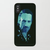 rick grimes iPhone & iPod Cases featuring Rick Grimes - The Walking Dead by Dr.Söd
