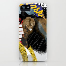 Victory Lap iPhone Case