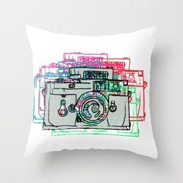 Click Click Boom Throw Pillow