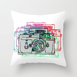 Click Click Boom Throw Pillow