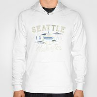 seattle Hoodies featuring Seattle by NWHRLND