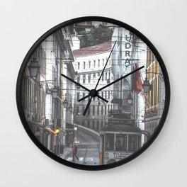 Lisbon Street Tram Wall Clock