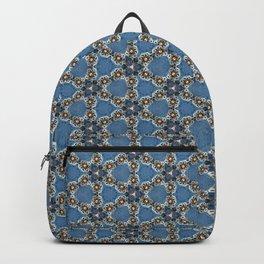 Pretty Geometric Beadwork Pattern Backpack