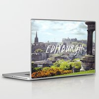 edinburgh Laptop & iPad Skins featuring Edinburgh by KidoKido