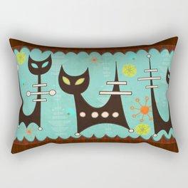 Atomic Cats Rectangular Pillow