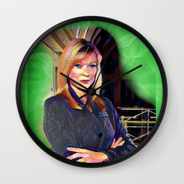 Karen Betts Wall Clock