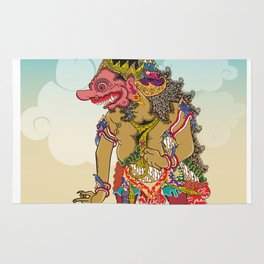 Kumbakarna character in Ramayana story Rug