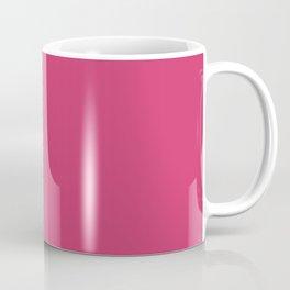Raspberry Sorbet Color Accent Coffee Mug