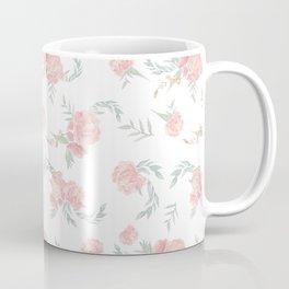 watercolor peonies Coffee Mug