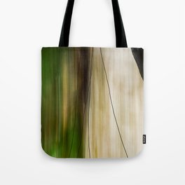 Forest, Water, Lines Tote Bag