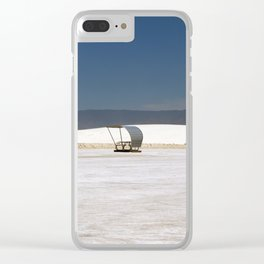 Picknick At White Sands Clear iPhone Case