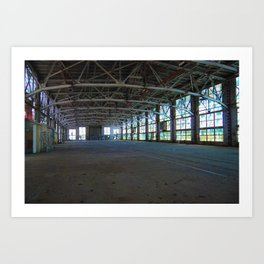 Albuquerque Rail Yards Art Print