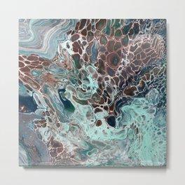 Water and Earth II Metal Print