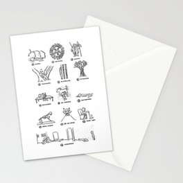 Hannibal - Season 2: Bloodless Edition! Stationery Cards