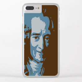 Voltaire Clear iPhone Case