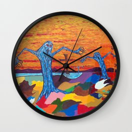 The Screaming Trees Wall Clock