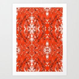 An Orange Nation Art Print