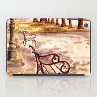 vienna iPad Cases featuring Ringstrasse in Vienna by Vargamari