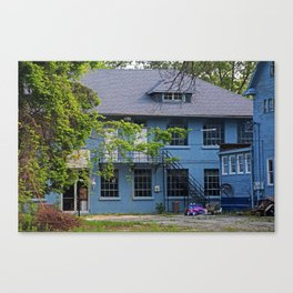 Old West End Blue 30- II Canvas Print