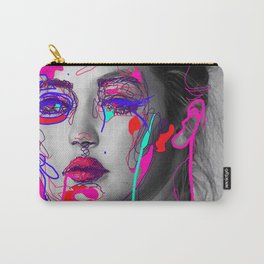 Abstract Gigi Carry-All Pouch