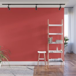 Dunn Edwards 2019 Curated Colors Red Power (Bright Bold Red) DEA108 Solid Color Wall Mural