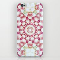 pomegranate iPhone & iPod Skins featuring Pomegranate by Truly Juel