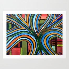 Glory Tree Art Print