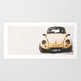 Beatle Art Print