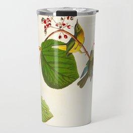 Pine Swamp Warbler Bird Travel Mug