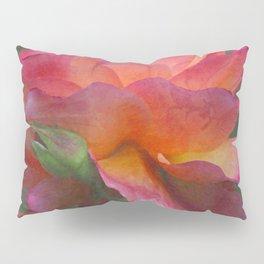 Pink Garden Rose Pillow Sham