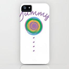 Yummy Loli Purp iPhone Case