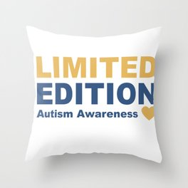 Autism awareness - limited edition Throw Pillow
