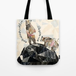 my love's another kind Tote Bag