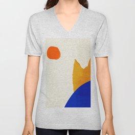 Abstract Art 33 Unisex V-Neck