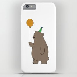 Bear Party iPhone Case