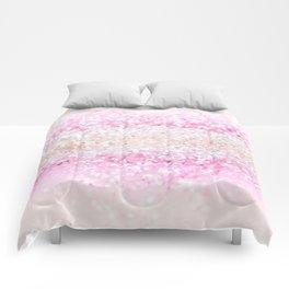 Unicorn Girls Glitter #2 #shiny #pastel #decor #art #society6 Comforters