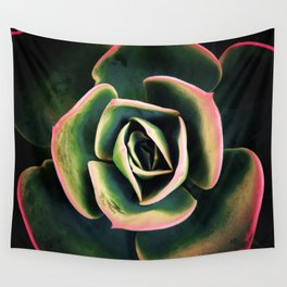 DARKSIDE OF SUCCULENTS XV Wall Tapestry