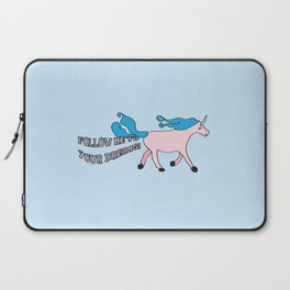 Follow Me To Your Dreams Laptop Sleeve