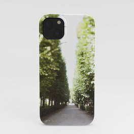 The Garden Paths in France iPhone Case