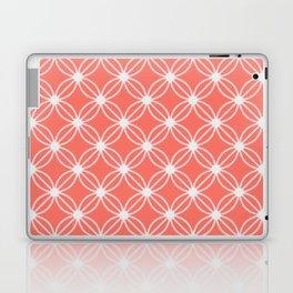 Abstract Circle Dots Peach II Laptop & iPad Skin
