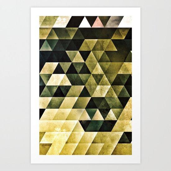 nyyls of gyydyn Art Print