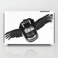 mouth iPad Cases featuring Flappy Mouth by Nicholas Ely