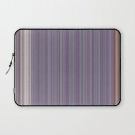Purple Pantone Modern Stripes Laptop Sleeve