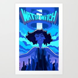 Water Witch Art Print