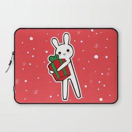 xmas bunny Laptop Sleeve