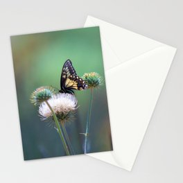 Butterfly Thistle Stationery Cards