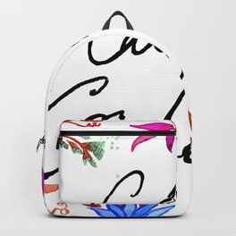 Call Me Cordelia - Blue Flowers Backpack