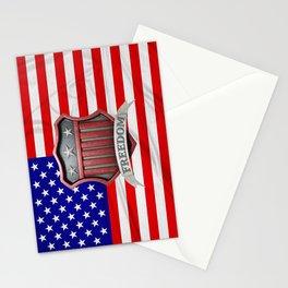 USA Shield Stationery Cards