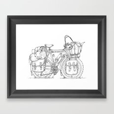 Tourer Framed Art Print